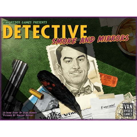 Detective: City of Angels: Smoke and Mirrors Expansion