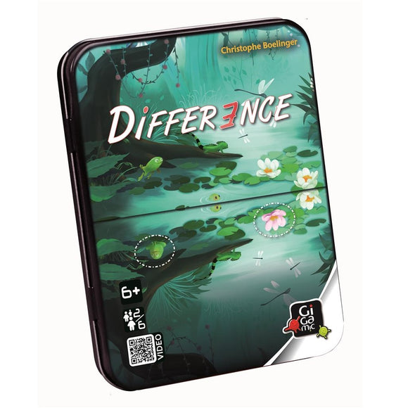 Front cover of the box of Difference