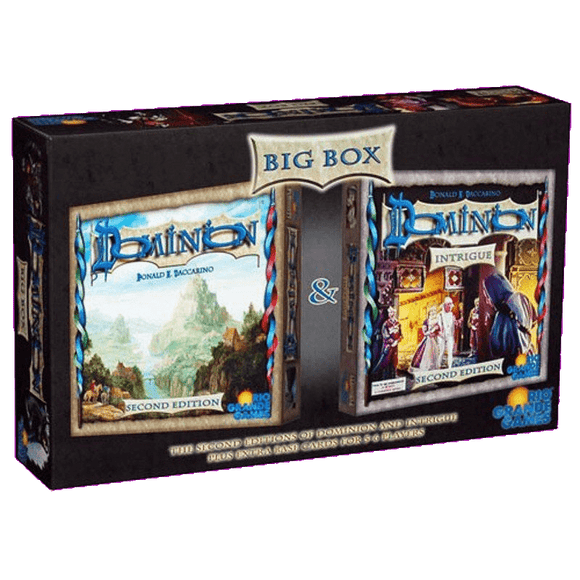 Front cover of the box of Dominion Big Box (Second Edition)