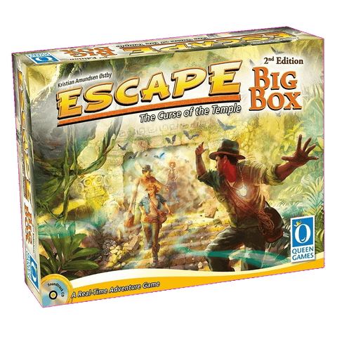 Escape: The Curse of the Temple: Big Box Second Edition EN/DE