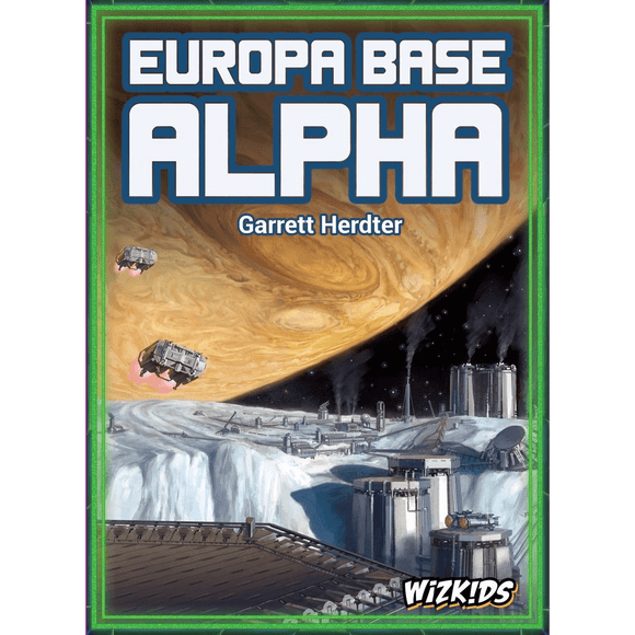 Front cover of the box of Europa Base Alpha