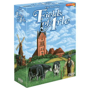 Front cover of the box of Fields of Arle