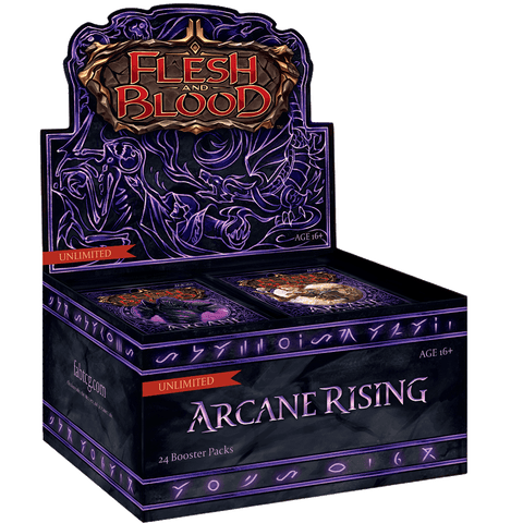 Flesh & Blood TCG - Arcane Rising Unlimited Booster Box