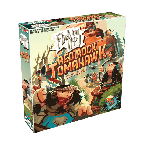 Flick 'em Up! Red Rock Tomahawk Expansion (Wooden)