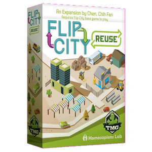 Front cover of the box of Flip City Reuse