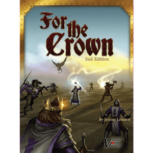 Front cover of the box of For The Crown Second Edition