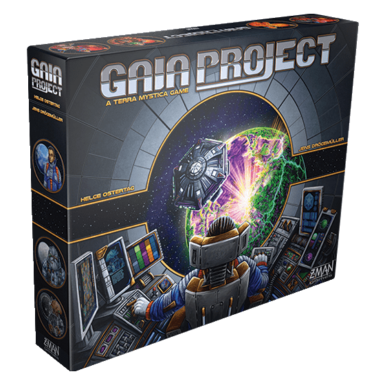 Front cover of the box of Gaia Project (A Terra Mystica Game)