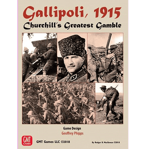 Front cover of the box of Gallipoli, 1915: Churchill's Greatest Gamble
