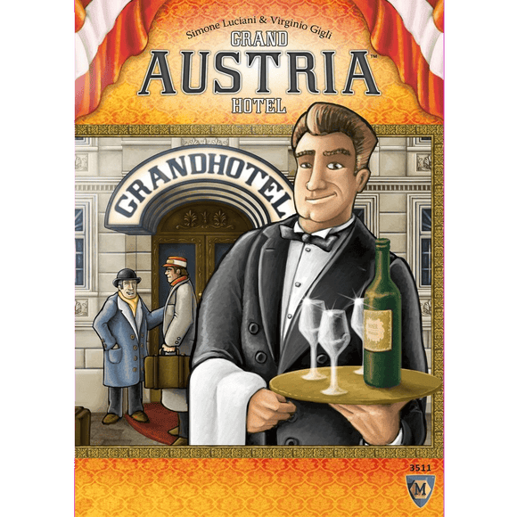 Front cover of the box of Grand Austria Hotel