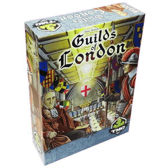 Front cover of the box of Guilds of London