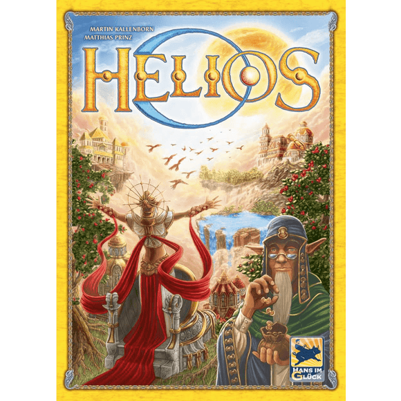 Front cover of the box of Helios