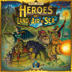Front cover of the box of Heroes of Land, Air & Sea