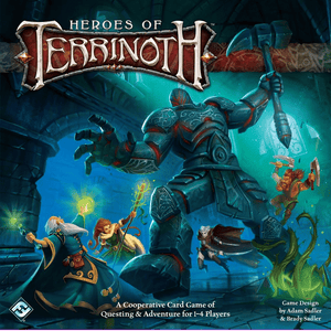 Front cover of the box of Heroes of Terrinoth