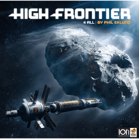 High Frontier 4 All Bundle (Including core game and Module 1 & 2 & 3)