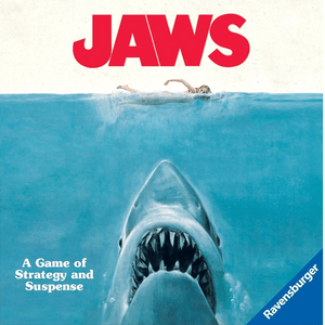 Front cover of the box of Jaws