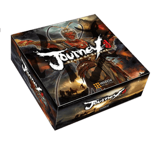 Front cover of the box of Journey Wrath of the Demons