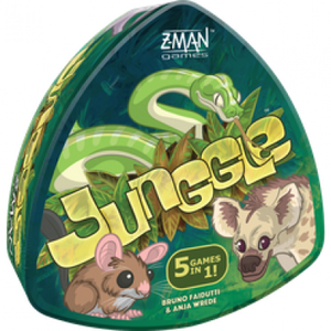 Front cover of the box of Junggle