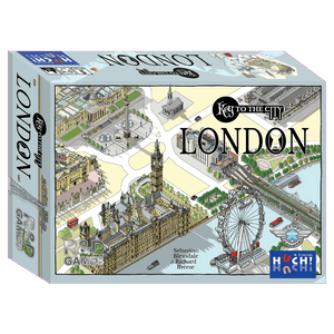 Front cover of the box of Key to the City London