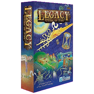Front cover of the box of Legacy: Gears of Time
