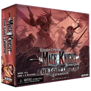 Front cover of the box of Mage Knight Board Game: The Lost Legion