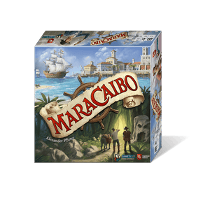 Front cover of the box of Maracaibo