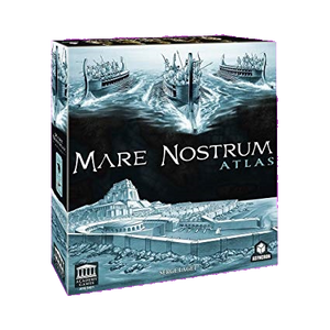 Front cover of the box of Mare Nostrum Atlas Expansion