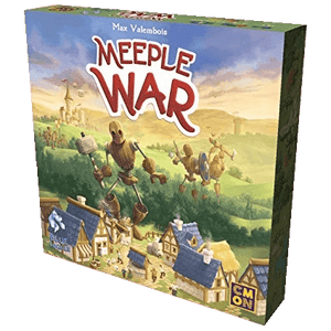 Front cover of the box of Meeple War