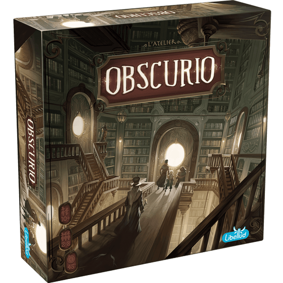 Front cover of the box of Obscurio NL/FR