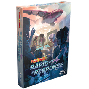 Front cover of the box of Pandemic Rapid Response