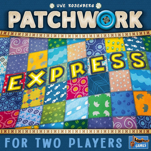 Front cover of the box of Patchwork Express