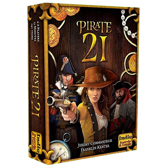 Front cover of the box of Pirate 21