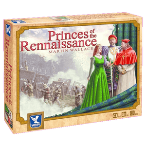 Front cover of the box of Princes of the Renaissance