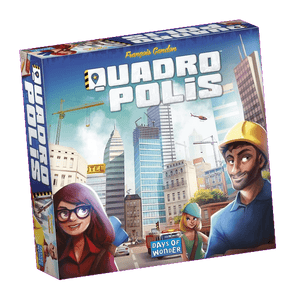 Front cover of the box of Quadropolis