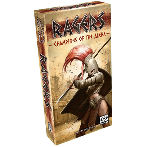 Front cover of the box of Ragers Champions of the Arena