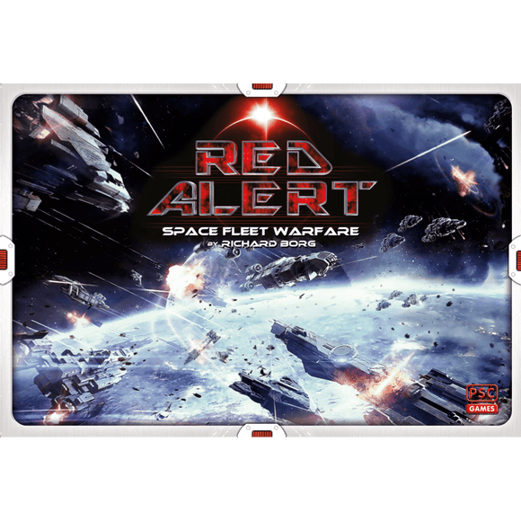 Front cover of the box of Red Alert: Space Fleet Warfare