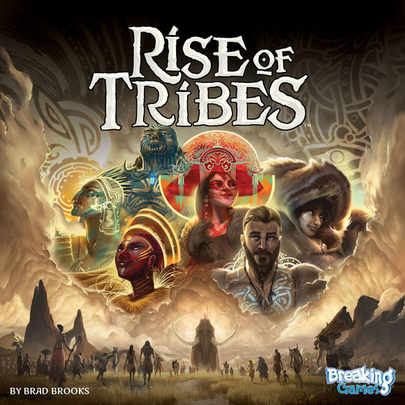 Front cover of the box of Rise of Tribes