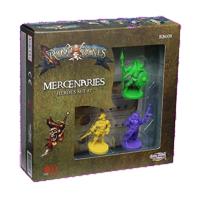 Rum and Bones Mercenary Heroes Set #2