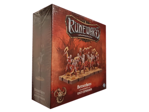 Front cover of the box of RuneWars Berserkers Unit Expansion