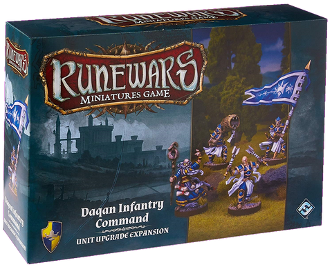 RuneWars Daqan Infantry Command Unit Expansion
