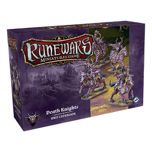 Front cover of the box of RuneWars Death Knights Unit Expansion