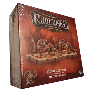 Front cover of the box of RuneWars Flesh Rippers Expansion