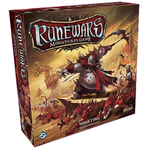 Front cover of the box of RuneWars Uthuk Y'llan Army Expansion