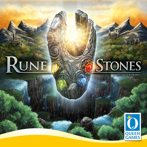 Front cover of the box of Rune Stones