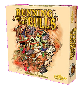 Front cover of the box of Running with the Bulls