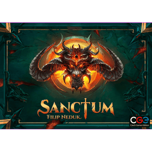 Front cover of the box of Sanctum
