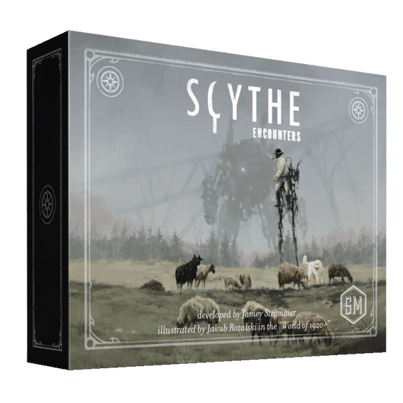 Front cover of the box of Scythe: Encounters
