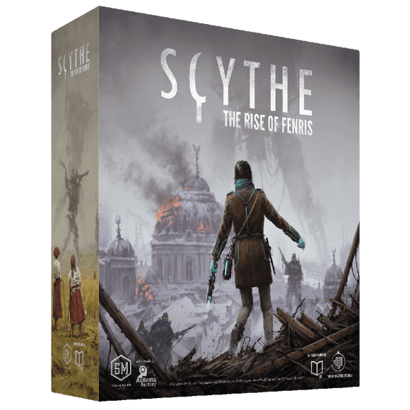 Front cover of the box of Scythe: Rise of Fenris Expansion (English)