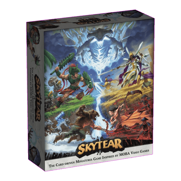 Front cover of the box of Skytear Starter Box (Season One)