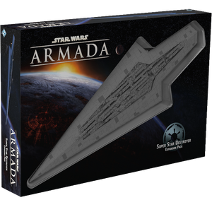 Front cover of the box of Star Wars Armada Super Star Destroyer Expansion Pack