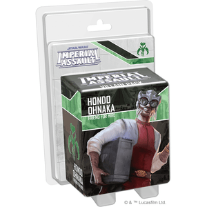 Star Wars: Imperial Assault Hondo Ohnaka Villain Pack